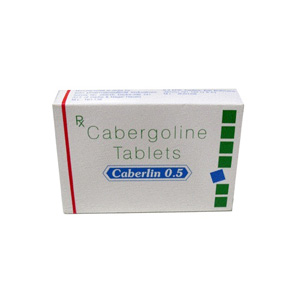Caberlin 0.5 Sun Pharma 0.5mg (4 pills)