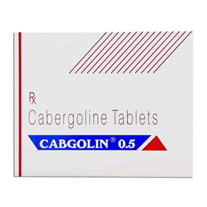 Cabgolin 0.25 Sun Pharma 0.25mg (4 pills)