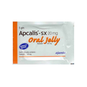 Apcalis SX Oral Jelly Indian Brand 20mg (10 pills)