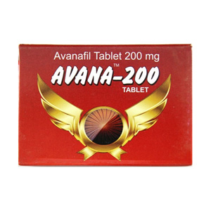Avana 200 Indian Brand 200mg (4 pills)