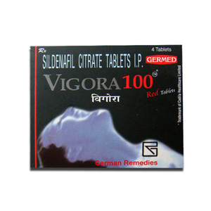 Vigora 100 Indian Brand 100mg (4 pills)