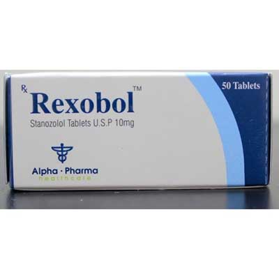 Rexobol-10 Alpha Pharma 10mg (50 pills)