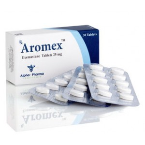 Aromex Alpha Pharma 25mg (30 pills)
