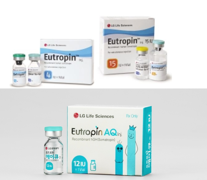 Eutropin 4IU LG LIFESCIENCE 1 vial of 4IU