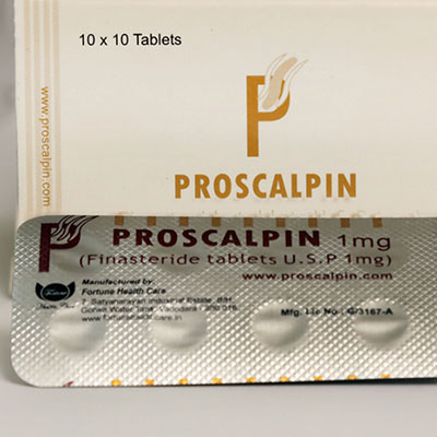 Proscalpin Fortune 1mg (50 pills)