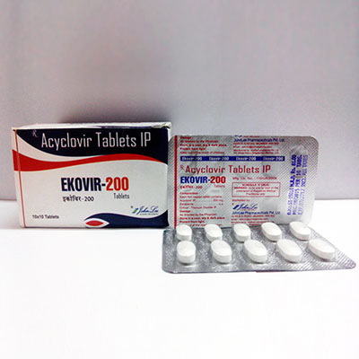 Ekovir John Lee 200mg (30 pills)