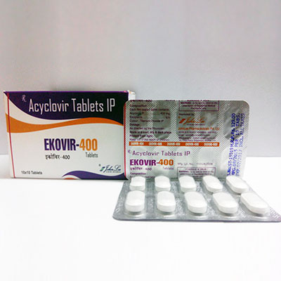 Ekovir John Lee 400mg (5  pills)